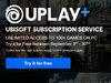 L'abonnement Uplay+ d'Ubisoft est disponible, gratuit jusqu'au 30 septembre