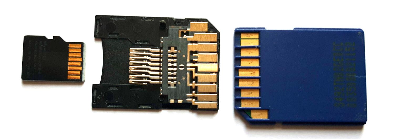 carte SD microSD