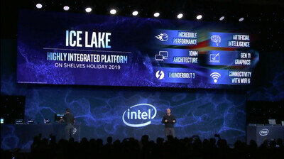 Intel CES 2019 Ice Lake