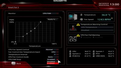 Gigabyte B360 D3P UEFI