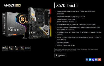 ASRock AM4 Thunderbolt