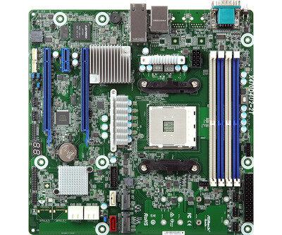 ASRock Rack X470D4U2-2T AM4 IPMI 10 GbE