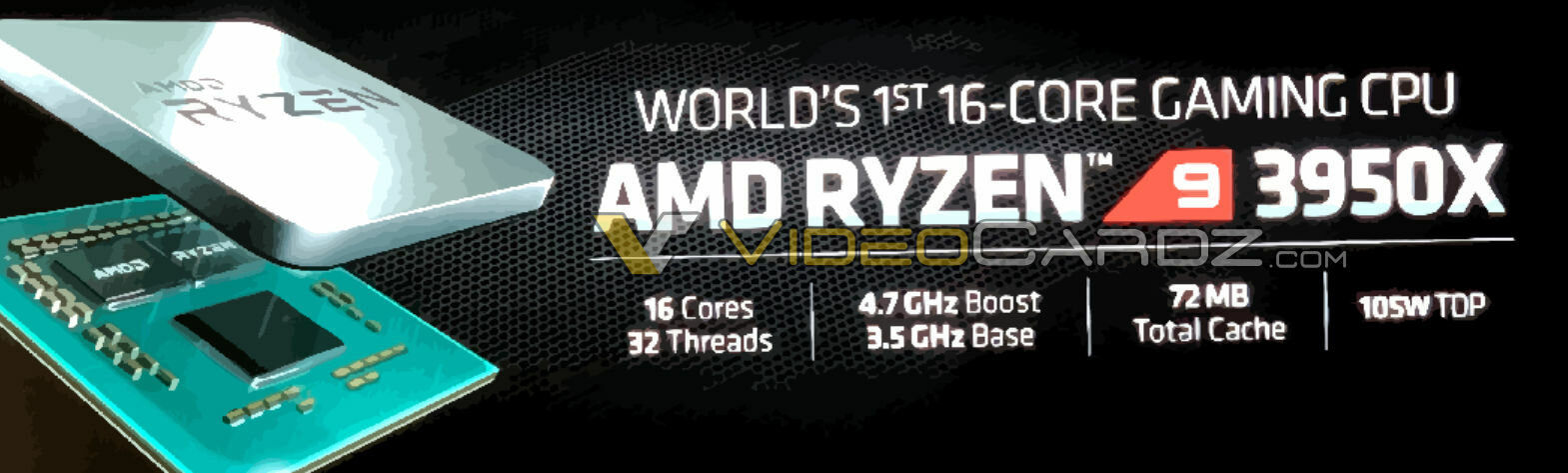 AMD Ryzen 9 3950X Leak