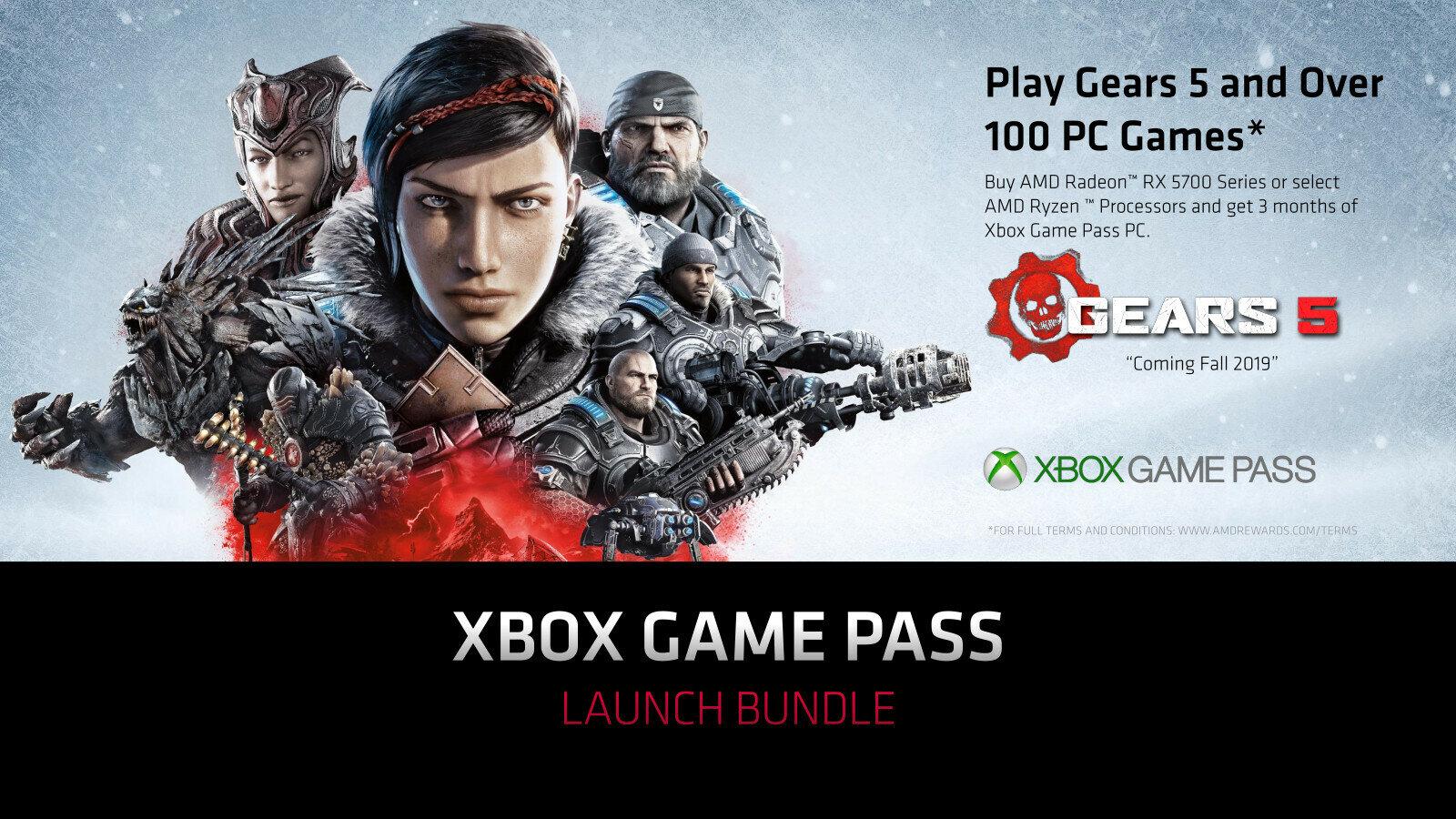 Radeon RX 5700 Xbox Game Pass