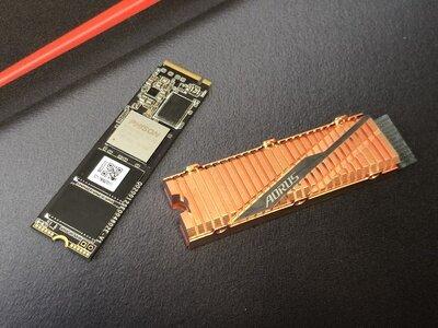 SSD Gigabyte Aorus PCIe 4.0