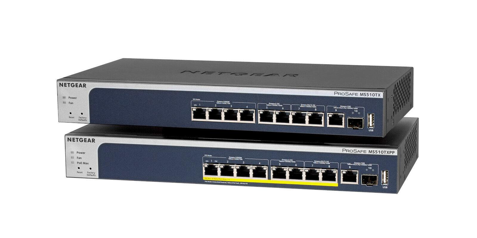 Netgear MS510TX(PP) Switch 10G Multi-Gig