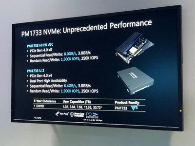 SSD Samsung PCIe 4.0 PM1733