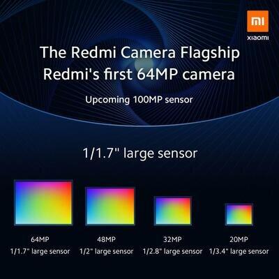 Xiaomi 64 Mpx 100 Mpx