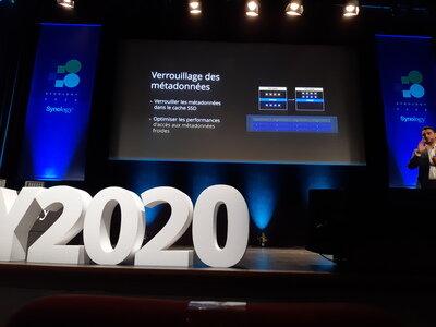 Synology 2020 Cache SSD métadonnées