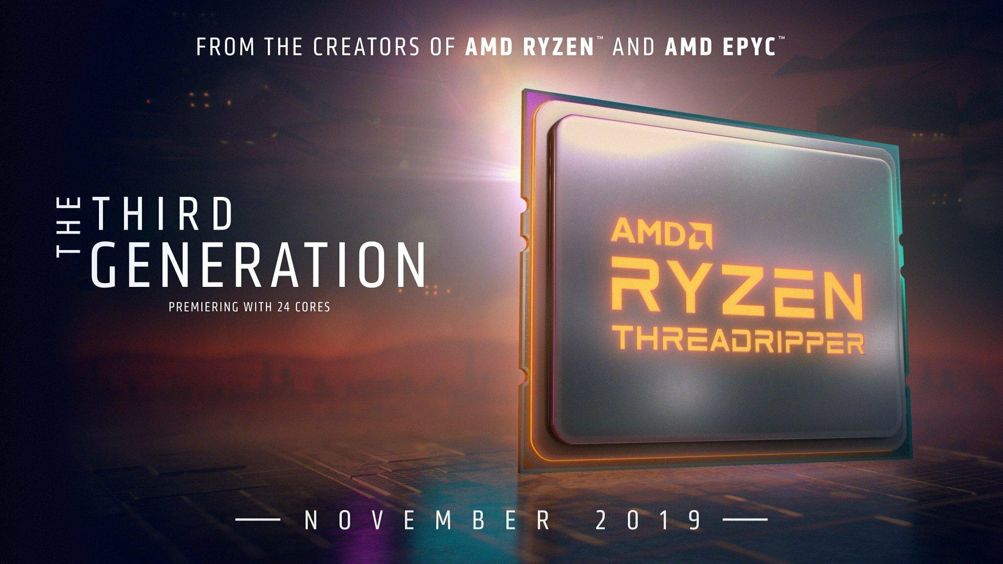 Ryzen Threadripper 2019