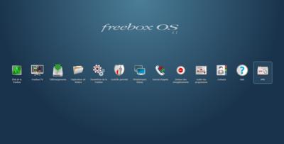 Freebox OS 4.1 Delta VM Interface