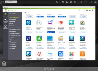 QNAP QTS Apps
