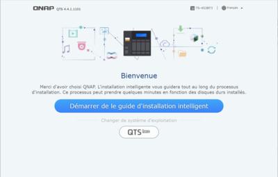 Installation QTS