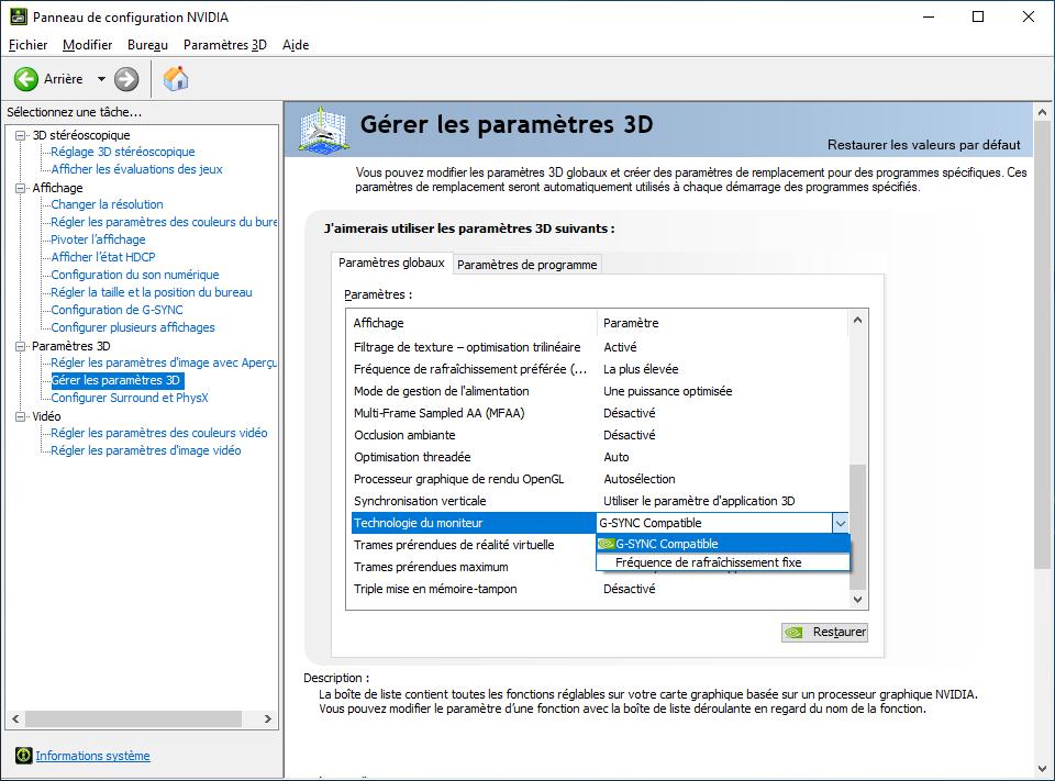 Bidouille | G-Sync Compatible : comment utiliser un écran ...