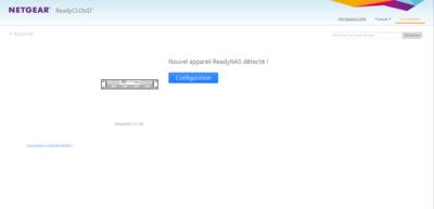 Netgear ReadyNAS OS 6.10 Découverte