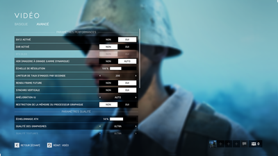DLSS Battlefield V Option 4K 2080 Ti