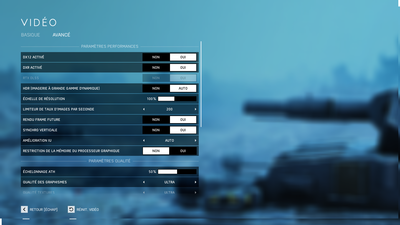 DLSS Battlefield V Option 1080p