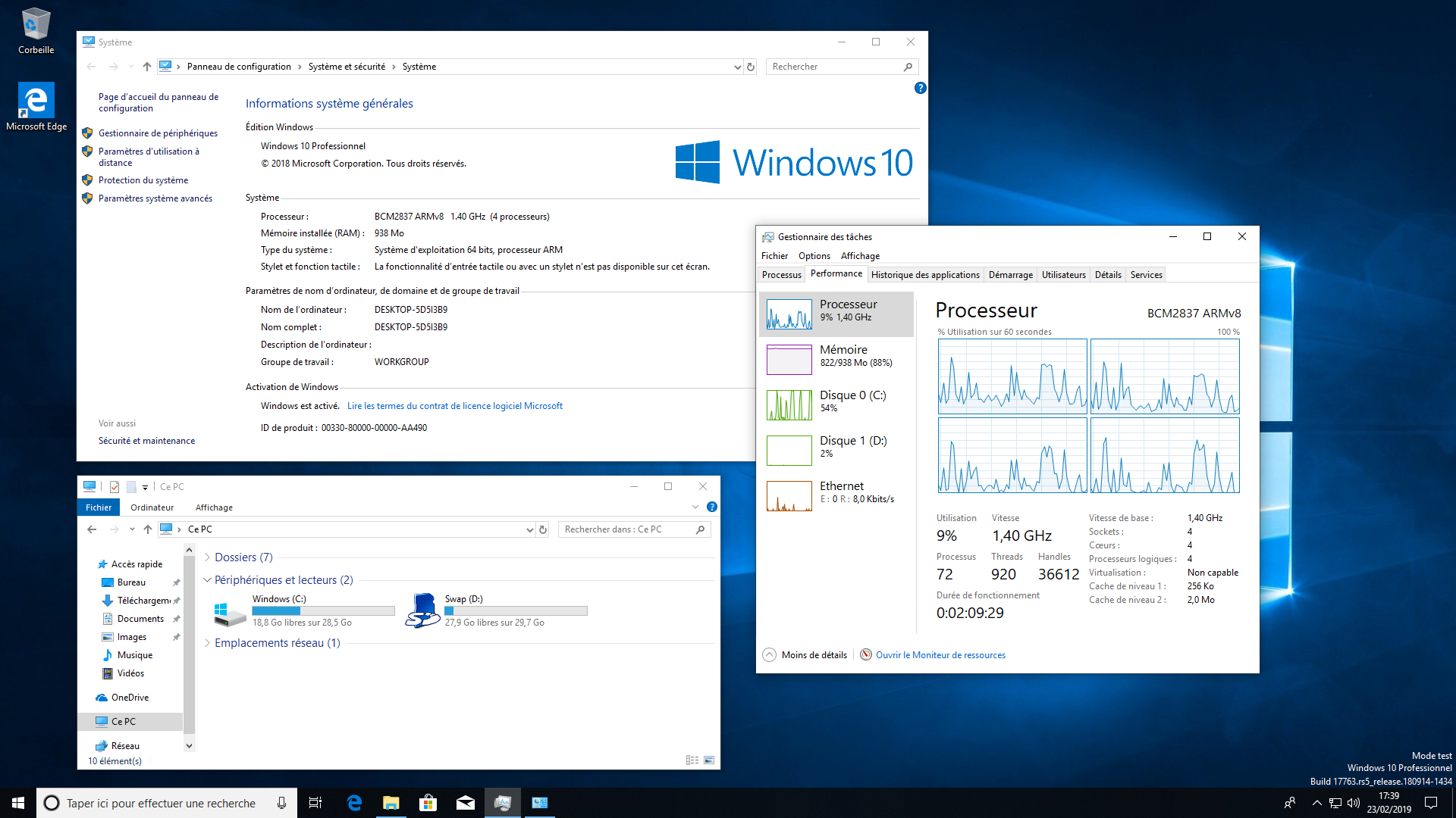 Windows 10 on ARM Raspberry Pi