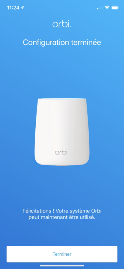 Orbi 2019 Configuration