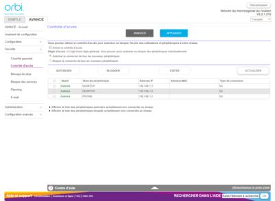Orbi 2019 Interface Web