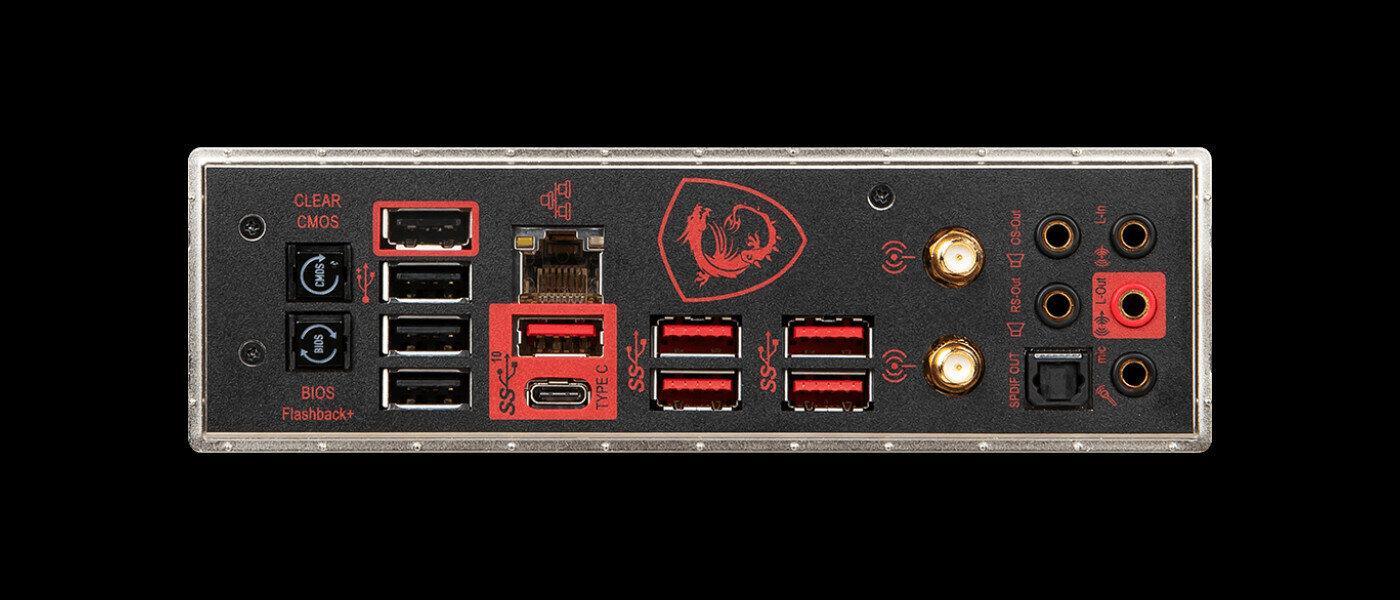 MSI MEG Z390 ACE Panneau arrière