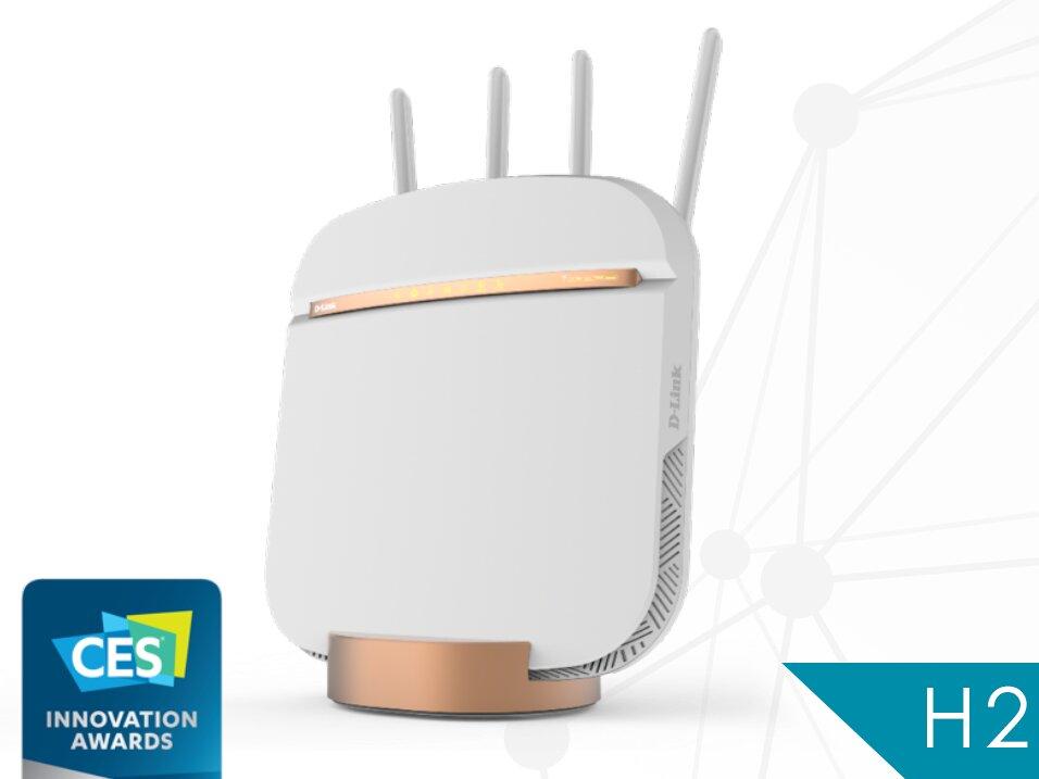 D-Link DWR-2010 : un routeur 5G avec Wi-Fi 5 (802.11ac) et port Ethernet à 2,5 Gb/s