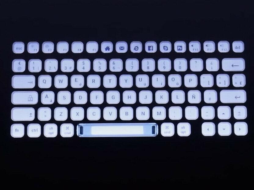 Nemeio : LDLC prépare un clavier e-ink personnalisable au financement participatif