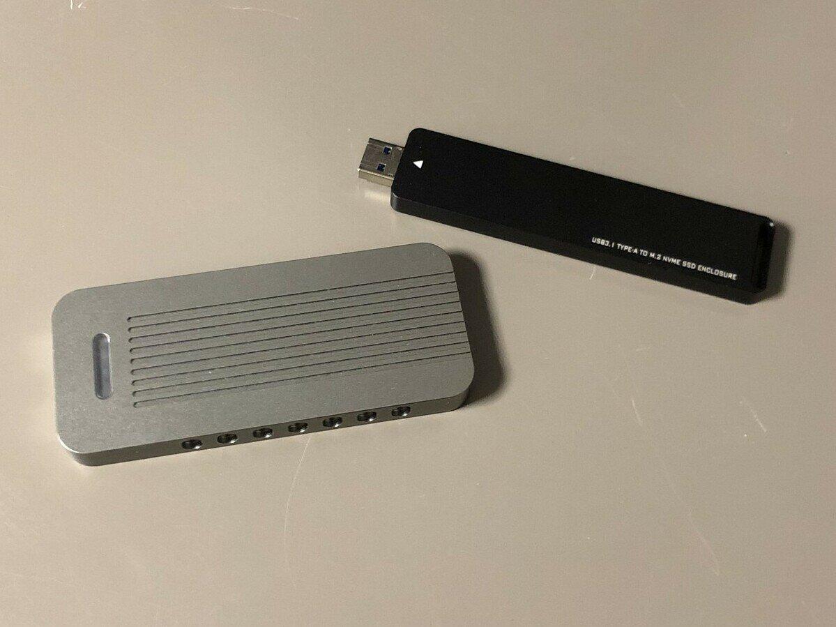 Clé USB 3.1 maison via un SSD M.2 : passons du S-ATA au PCIe, cap sur les 10 Gb/s