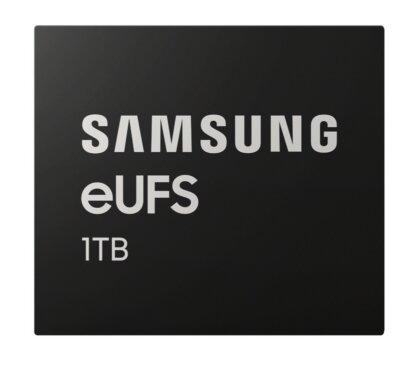 Samsung produit en masse une puce eUFS de 1 To capable d'atteindre 1 Go/s
