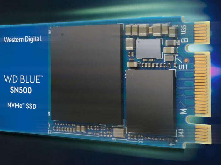 WD Blue SN500 : des SSD M.2 PCIe jusqu'à 1,7 Go/s, dès 0,19 euro par Go