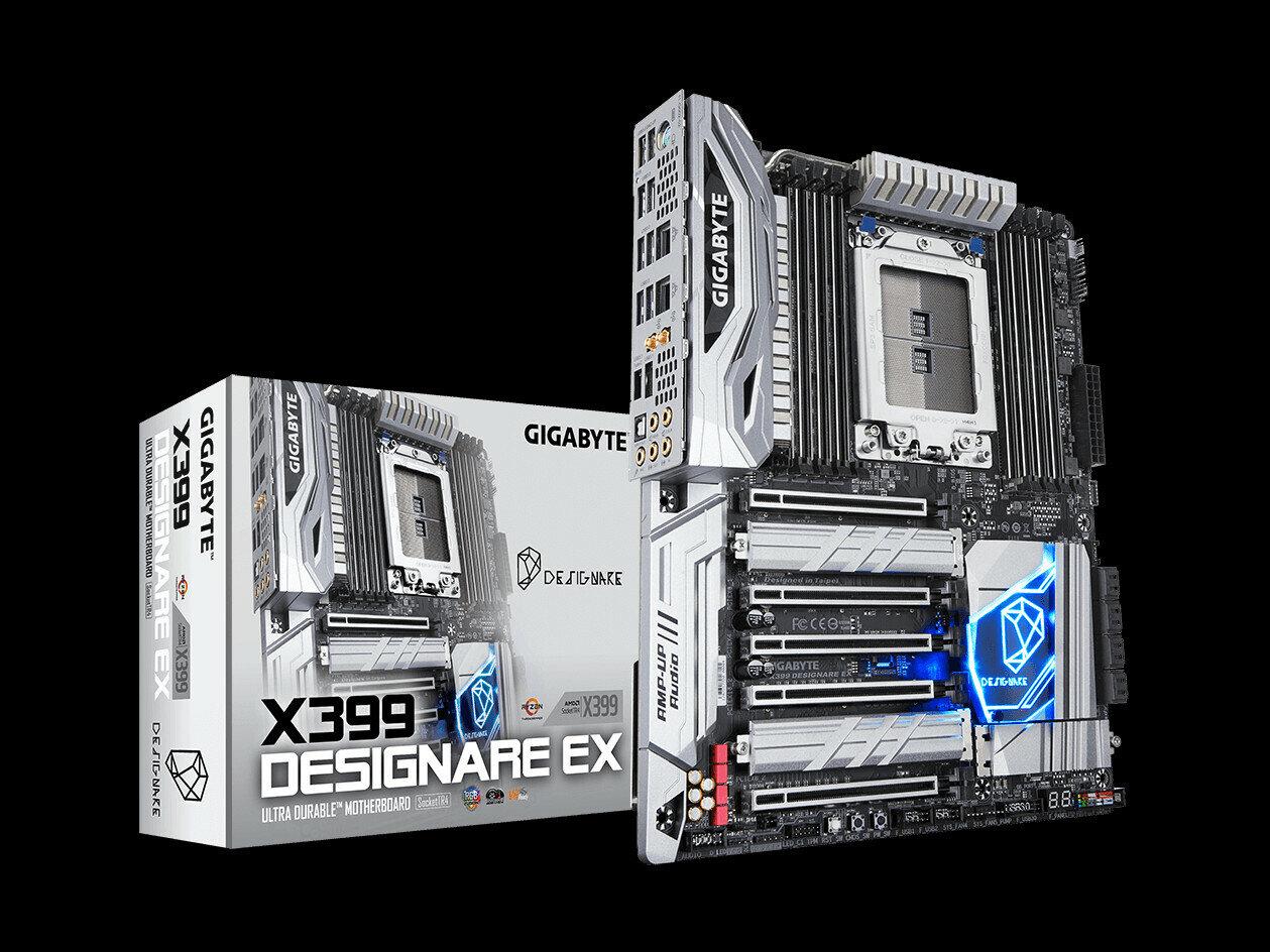 X399 Designare EX de Gigabyte : la carte mère presque parfaite pour une station de travail