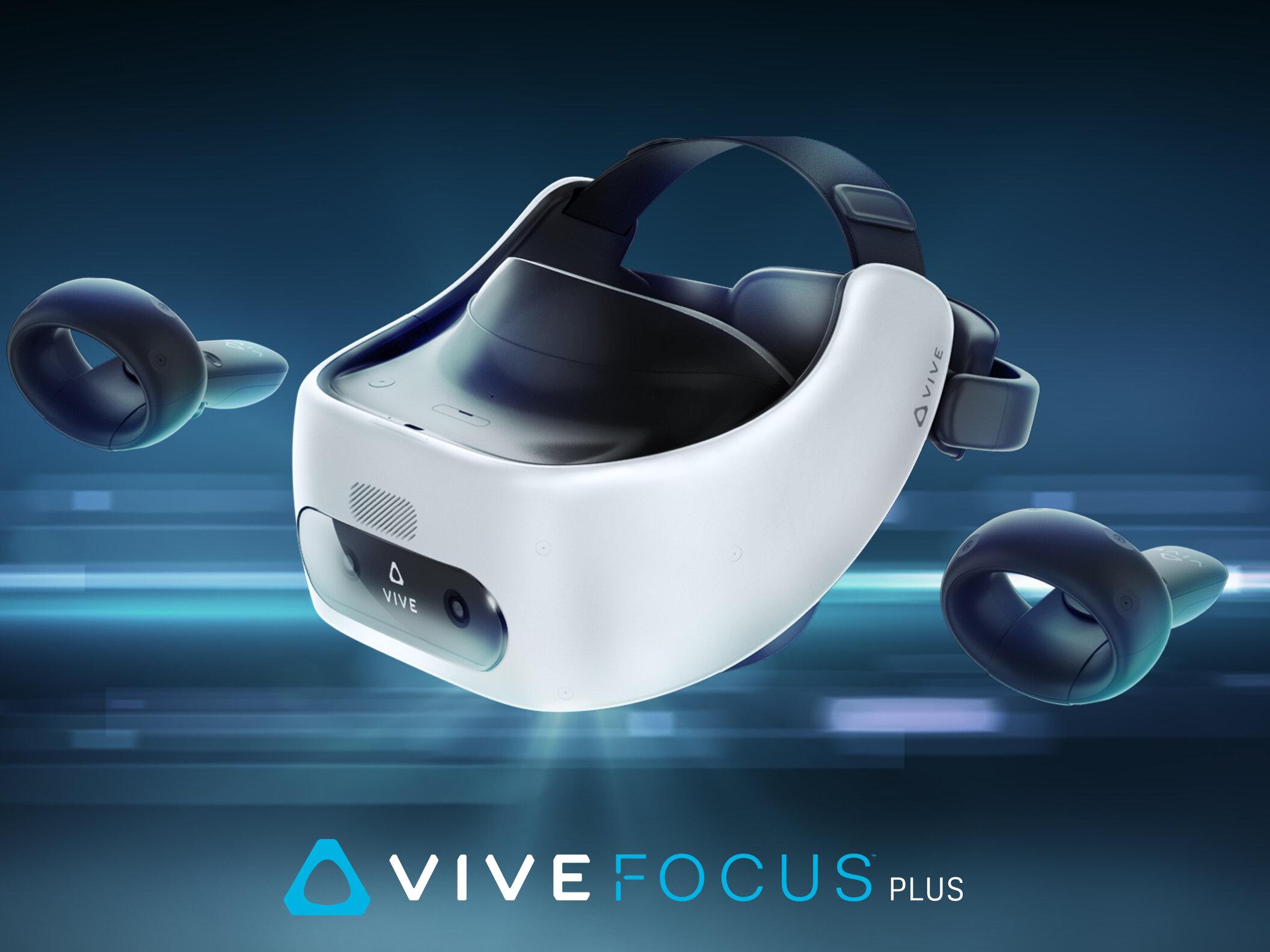Vive Focus Plus : le casque de VR autonome de HTC vendu 829 euros, dès le 15 avril