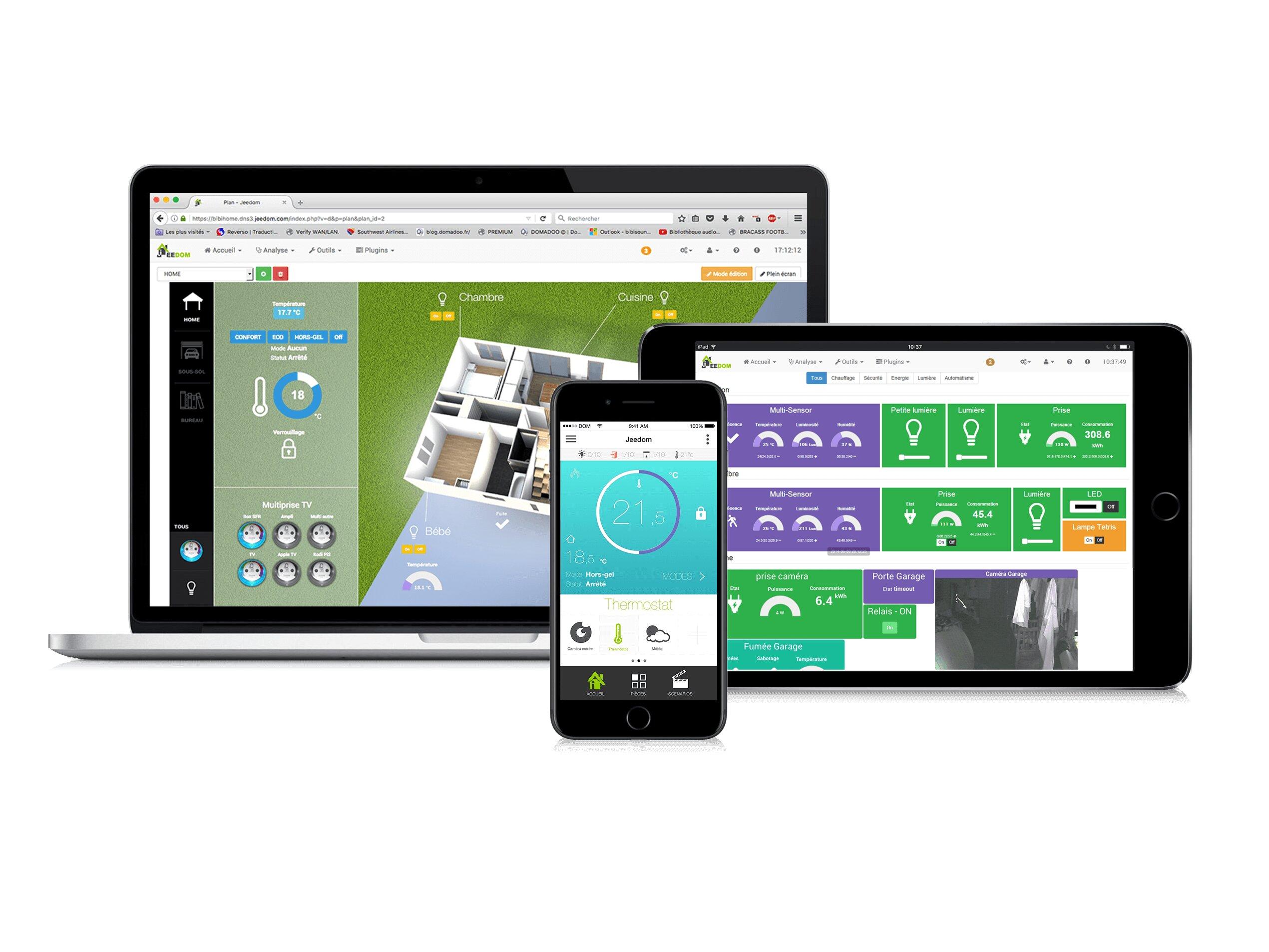 JeeDom v4 arrive en bêta, l'application mobile s'améliore