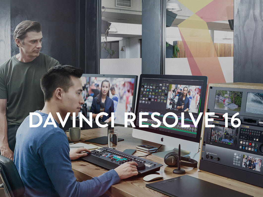 Blackmagic multiplie les annonces et dévoile DaVinci Resolve 16