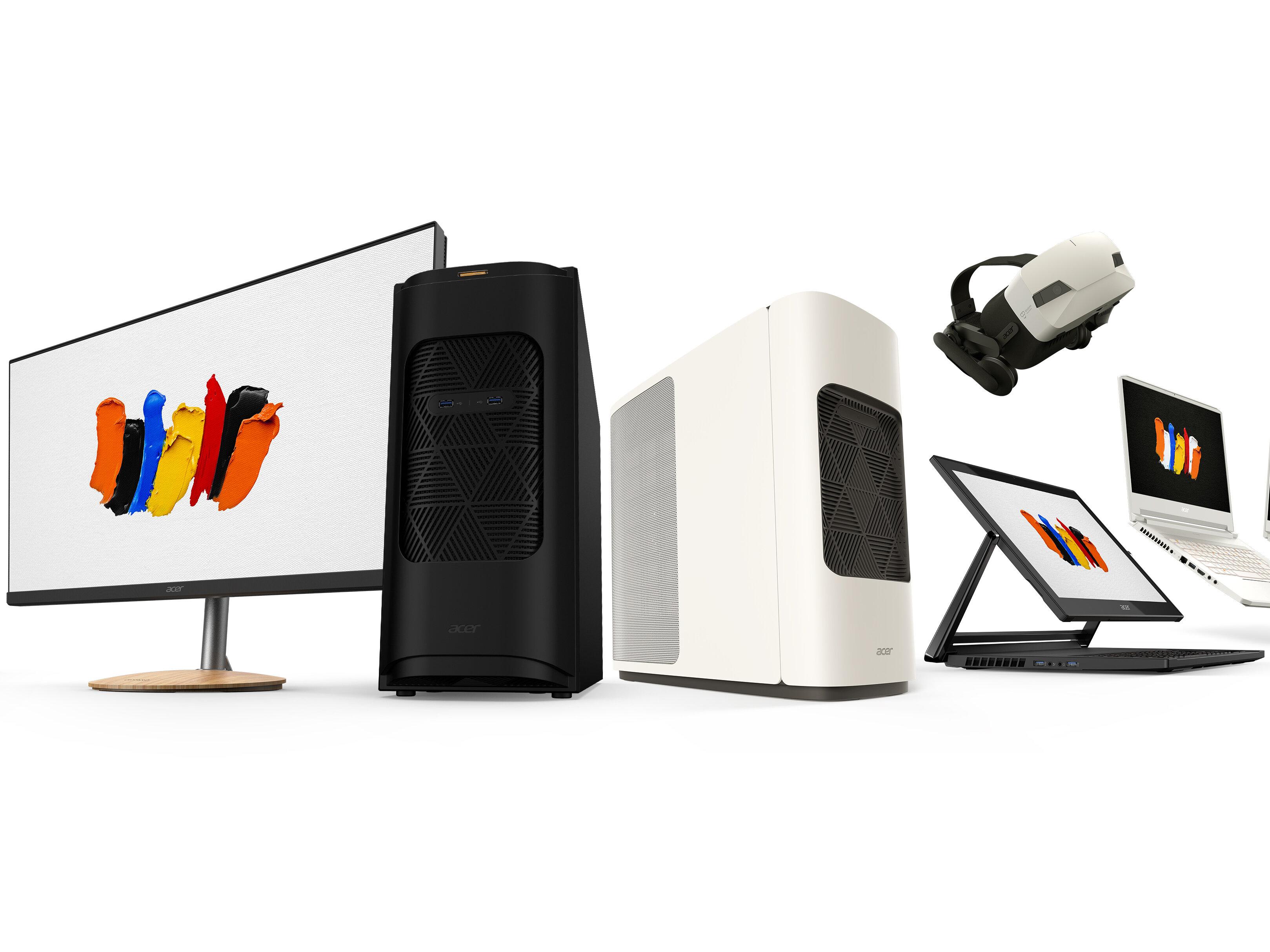 ConceptD : Acer lance huit produits visant « créateurs et designers » pour sa nouvelle marque