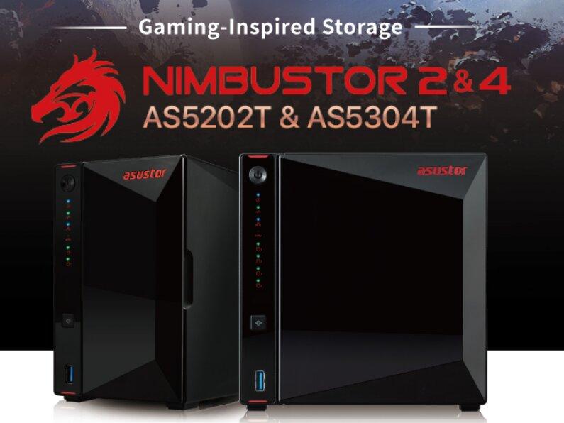 NAS Asustor Nimbustor, Cabinetstor et Lockerstor : réseau à 2,5 Gb/s, ADM 3.4 et CPU Intel