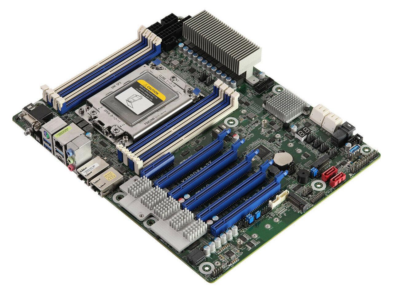 ASRock Rack X399D8A-2T et X470D4U2-2T : 2x 10 GbE et BMC/IPMI pour Ryzen (Threadripper)