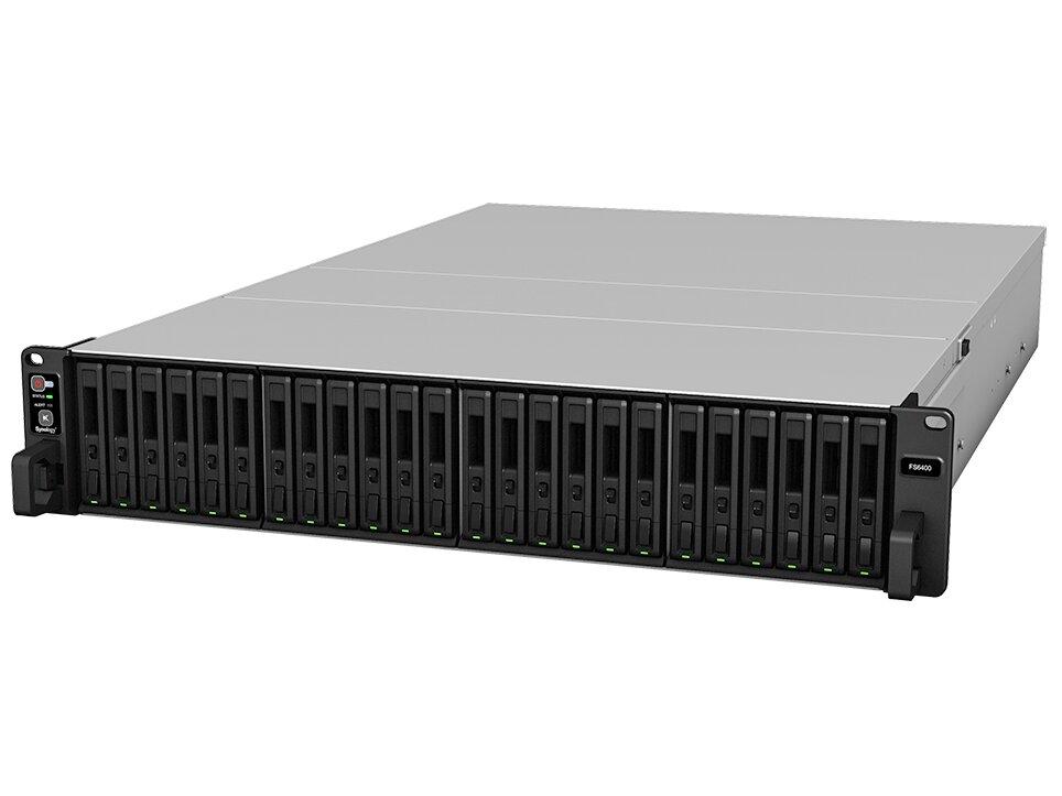 Synology lance ses NAS haut de gamme FS6400 et SA3400 avec des Xeon