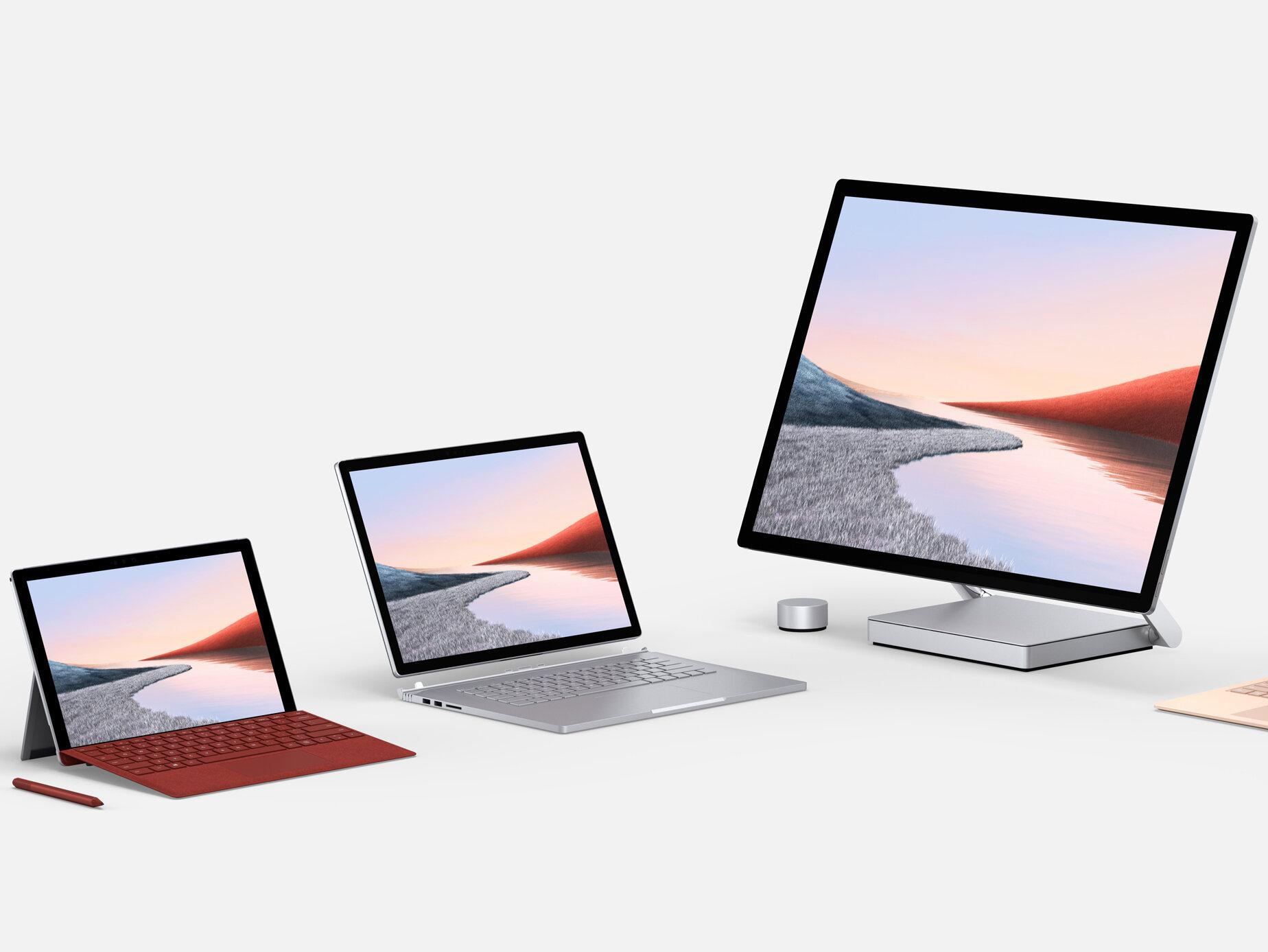 AMD, ARM, Intel : pour sa nouvelle gamme Surface, Microsoft diversifie ses CPU