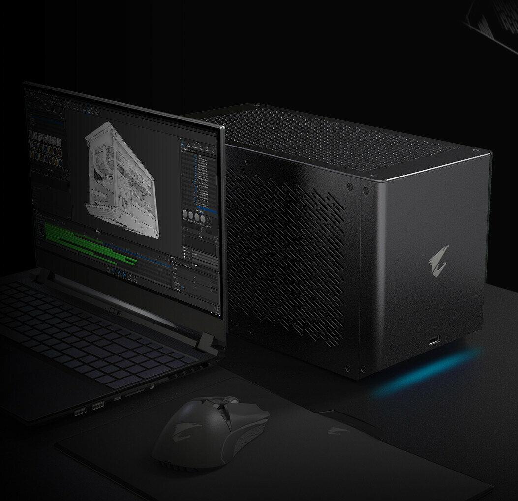Gaming Box avec GeForce RTX 2080 Ti : Gigabyte place du watercooling dans sa carte graphique externe