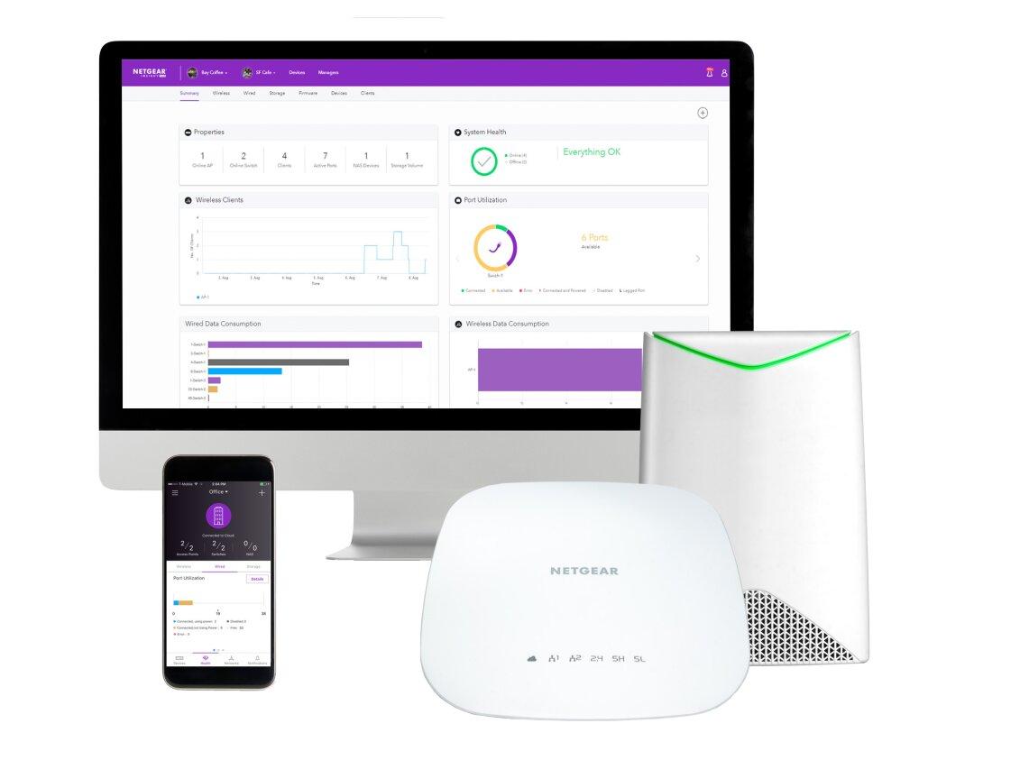 Sur sa gamme Business, Netgear mise sur le backhaul Wi-Fi et le PoE+