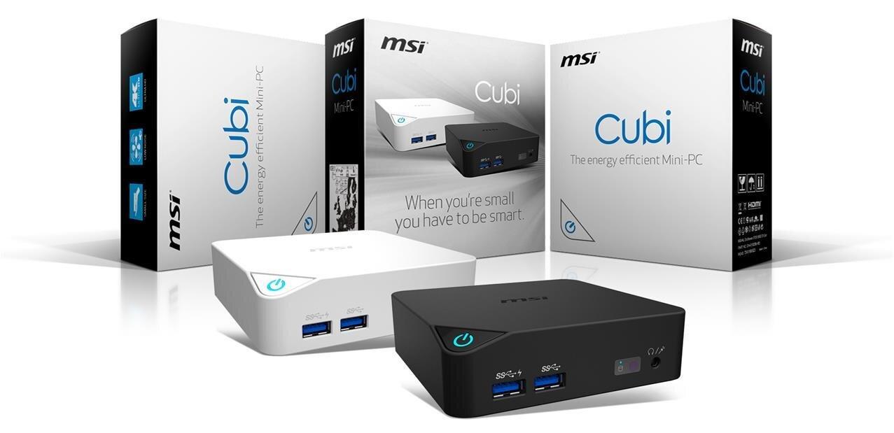 Cubi : un mini PC Broadwell signé MSI à consommer avec modération