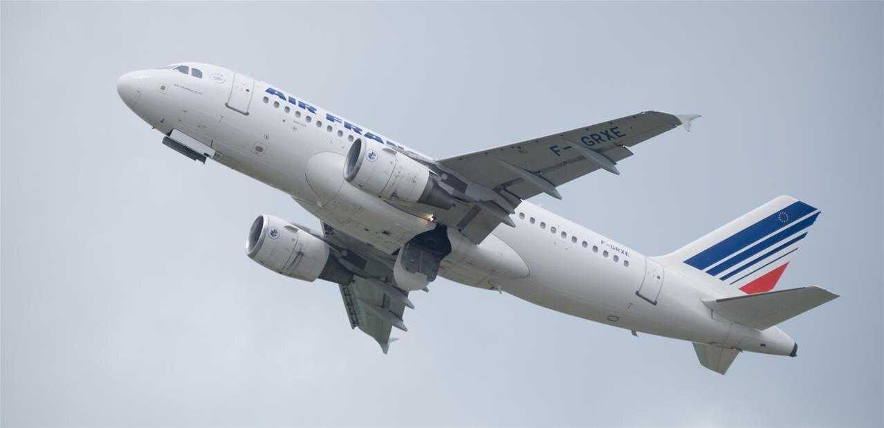 Air  France autorise le Bluetooth sur toutes les phases de vol, mais pas par tous  les temps