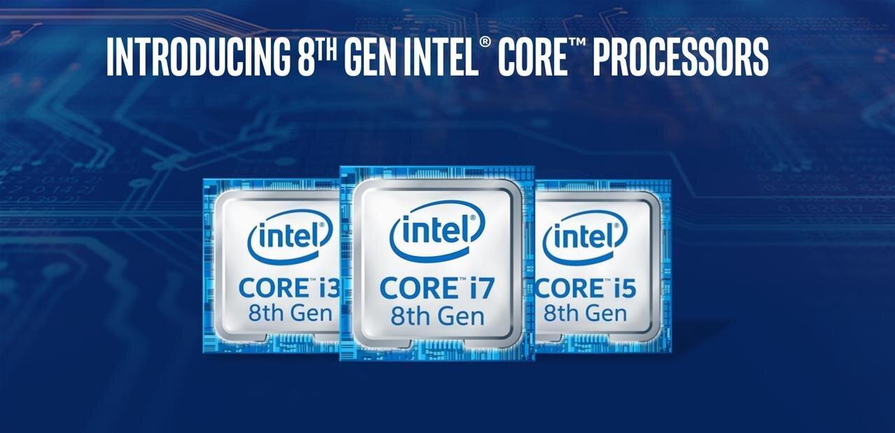 Intel : les Core de 8ème génération dévoilés à l'avance, 6 cœurs dès le modèle à 182 dollars
