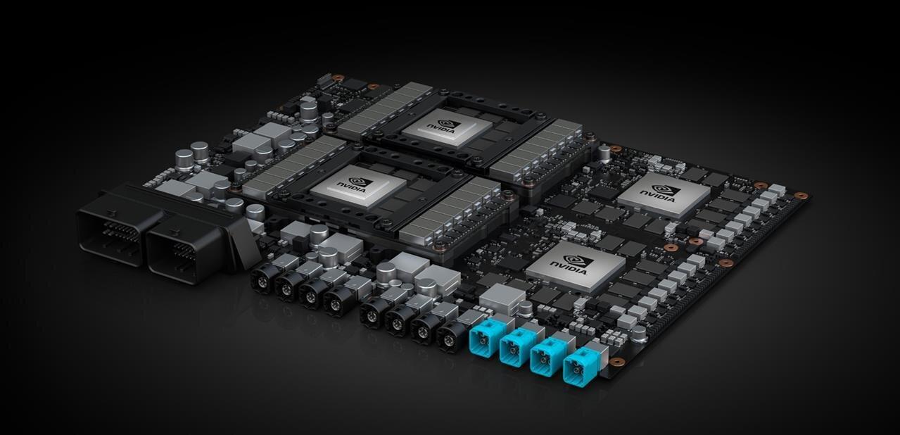 NVIDIA prépare l'après Volta et dévoile sa plateforme Pegasus pour voiture autonome Level 5