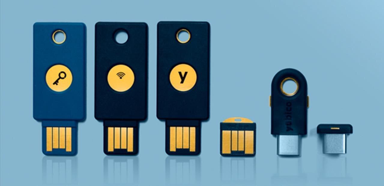 Les Yubikey Neo (NFC) compatibles avec les derniers iPhone, mais pas pour l'U2F