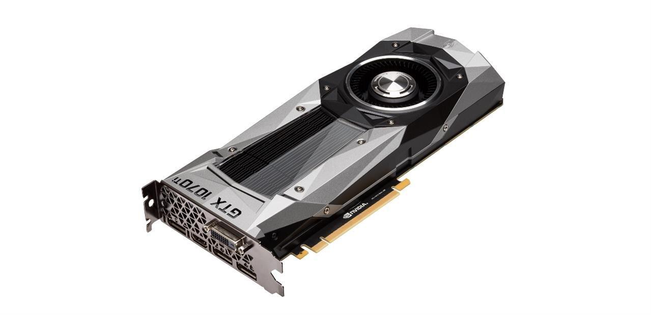 NVIDIA annonce sa GeForce GTX 1070 Ti à 469 €, sans overclocking d'usine