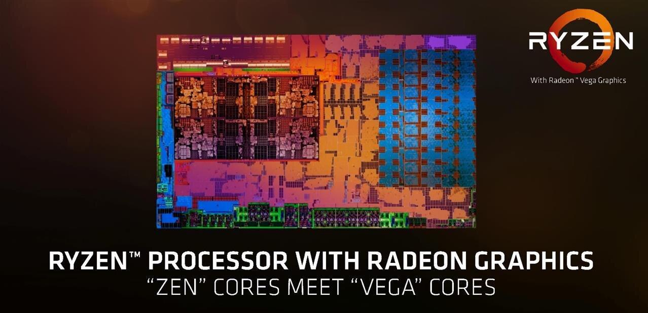 Les Ryzen 3 2200G et 5 2400G d'AMD face au Core i3 8100 d'Intel