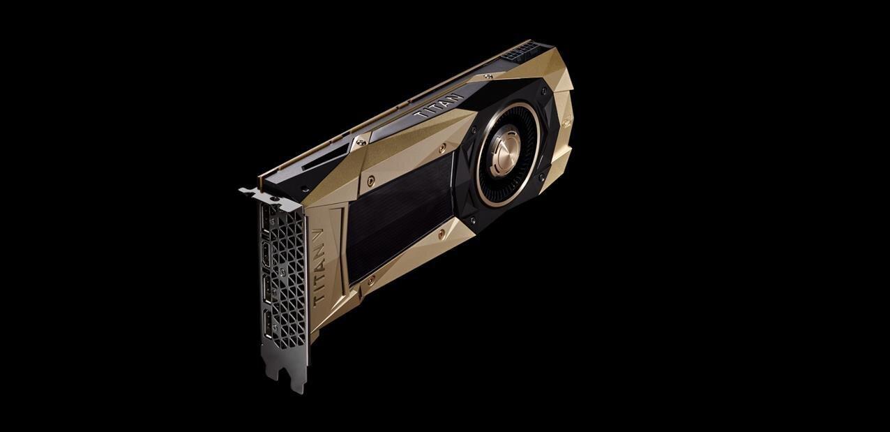 Titan V : NVIDIA dévoile sa carte à base de GV100 (Volta) avec 12 Go de HBM2 à... 2 999 dollars