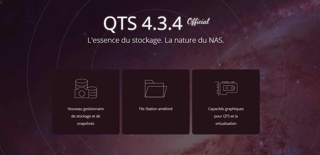 QTS 4.3.4 disponible en version finale pour les NAS QNAP, le tour des nouveautés